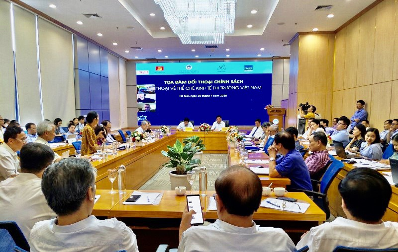 "Conference ""Policy Dialog on the market economy of Vietnam"""